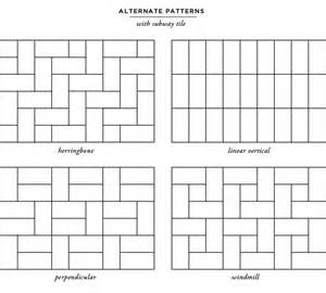 backsplash layout subway tile layouts for kitchen backsplashes