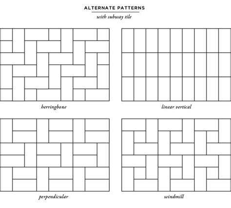sick of subway tile 7 different patterns to freshen up 30 best floor patterns images on pinterest floor