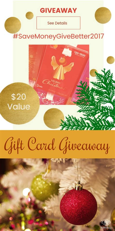 Walmart Gift Card Giveaway 2017 - a gift for you giveaway dining with debbie