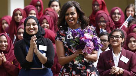 michelle obama in london michelle obama in uk unveils girls education program cnn