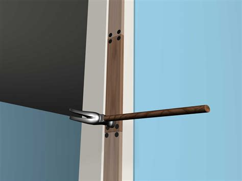 Repair Door by How To Repair A Door Frame 7 Steps With Pictures Wikihow