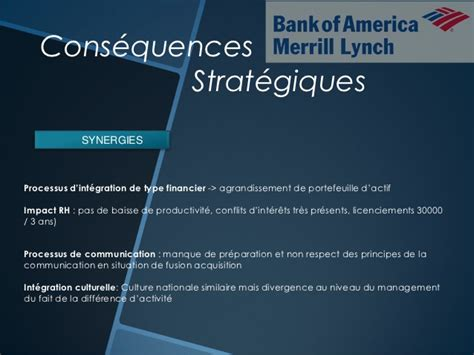 bank of america merrill lynch culture merger between merrill lynch and bank of america