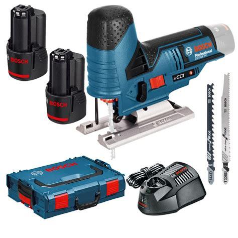 Accu Mobil Merk Bosch bosch blauw gst 12v 70 professional accu decoupeerzaag 2 0ah li ion in l boxx toolmax