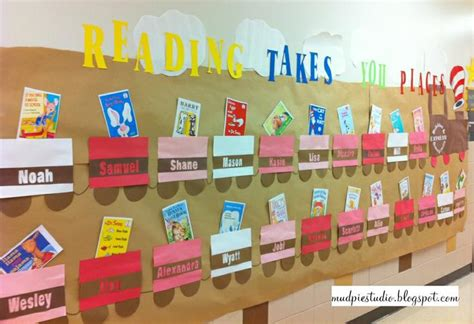 reading themes for schools reading takes you places elementary bulletin board display