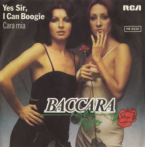 Bargain Shopping Yes I Can Do That by Baccara Yes Sir I Can Boogie German 7 Quot Vinyl Single 7