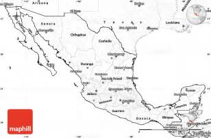 blank us map with mexico 4 best images of mexico map outline printable printable