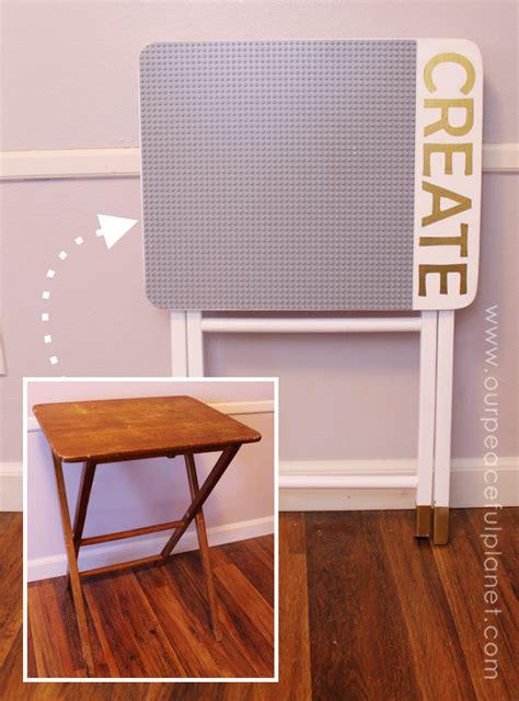 diy portable lego table portable diy lego table