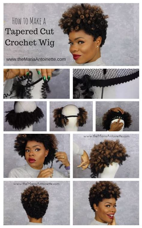 tapered afro wig 188 best images about c r o c h e t b r a i d s on