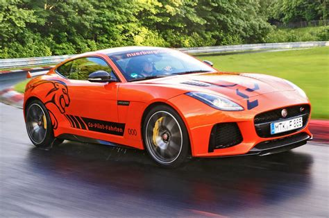 Jaguar F Type Offers Jaguar Now Offers Rides Around The Nurburgring In The F