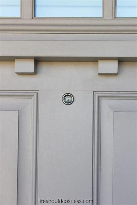 Front Door With Peephole Front Doors Inspirations Peep Holes For Front Door 4 Peephole Front Door Diy How