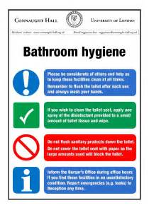 Bathroom Hygiene At Work At Work Pinterest