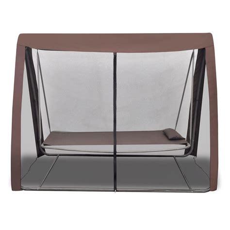 cama con mosquitera cama columpio para el jard 237 n con mosquitera tienda online