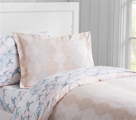Sateen Duvet Cover Clara Sateen Duvet Cover Pottery Barn