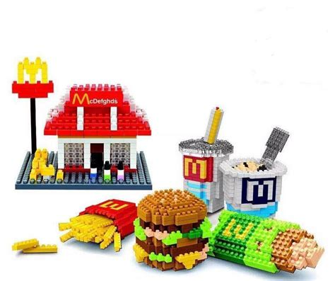 Lego Sembo Mcd By Sansipp Store mcd mcdonald 6 in 1 nanoblock blocks end 1 21 2018 1 36 pm