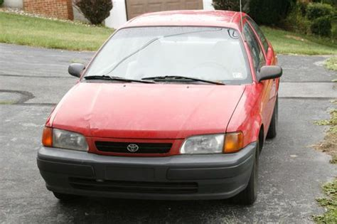 sell used 1996 toyota tercel 35 mpg automatic needs engine work in clearfield pennsylvania