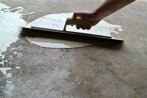 Fixing Cracks In Garage Floor by Easily Repair Your Pitted Or Spalled Garage Floor All