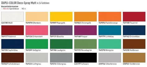 dupli color match color chart autos post