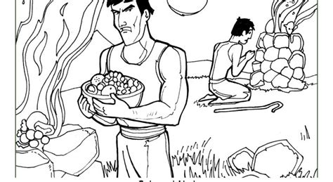 adam and eve cain and abel coloring page cain and abel maze cain and abel coloring page cain and