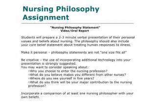 Nursing Philosophy Essay by Holistic Assessment Of Nursing Students With Eportfolio Nursing La