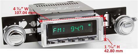 Usb Gto retrosound 68 72 gto lemans tempest hermosa radio