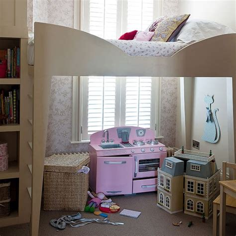 raised bed in bedroom childrens room step inside a spacious london town house