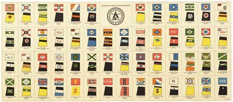 rederijen in nederland drukwerk met overzicht van rederij vlaggen en
