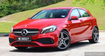 Mercedes Sport Driven Mercedes A250 Sport Facelift In Malaysia