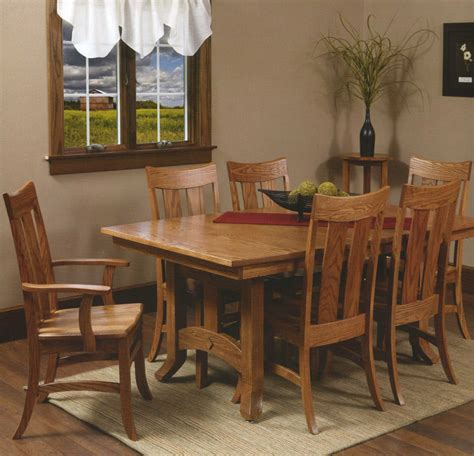 dining table amish arts crafts dining table