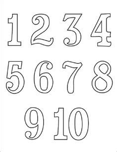 bubble numbers images  printables bubble