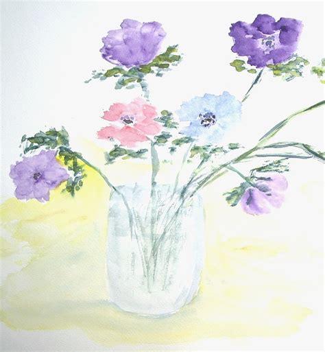 Pot Bunga Series 02 gambar 25 contoh sketsa gambar bunga mudah digambar