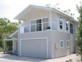facade exteriors baywinds beach house sydney design