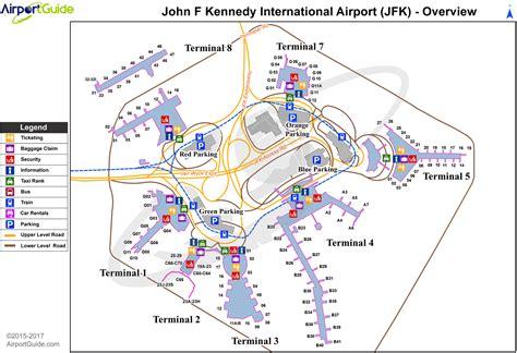 jfk terminal 4 map jfk terminal map map2