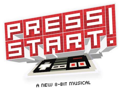 Press Start press start a new 8 bit musical play for