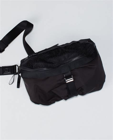 lululemon go lightly crossbody bag lululemon go lightly bag black lulu fanatics