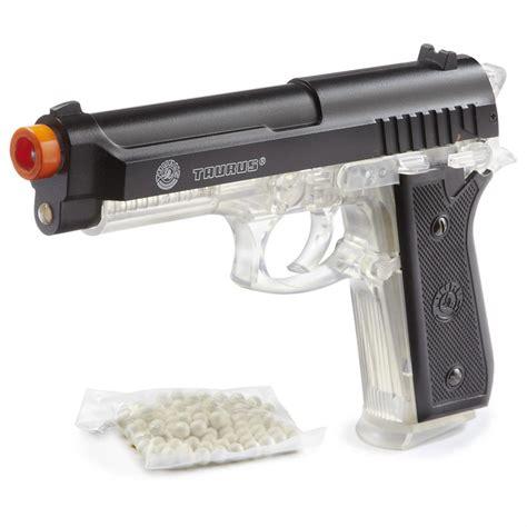 Airsoft Gun Taurus taurus 174 pt92 metal slide powered airsoft pistol from palco 174 clear 423757 airsoft