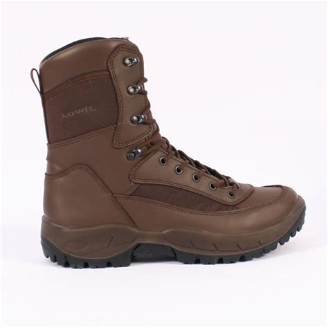 lowa recon para brown boots