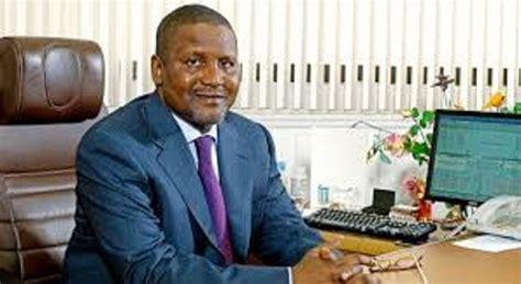 africa s richest billionaire aliko dangote plans to take arsenal