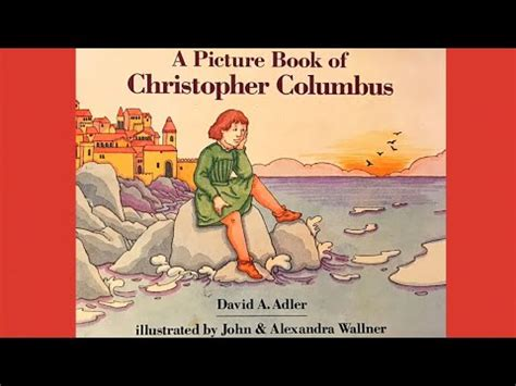 a picture book of christopher columbus a picture of book of christopher columbus by david a