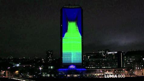 deadmau5 ft lights 3d mapping presentacion de producto nokia lumia live ft