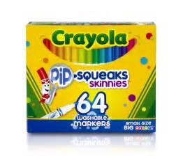 crayola 64 colors crayola 64 ct washable markers 58 8764 1 pack ebay