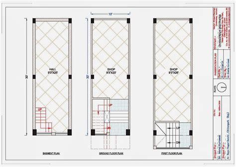 shop plans 10x30 complex shop plan for mr manoj kumawat indian