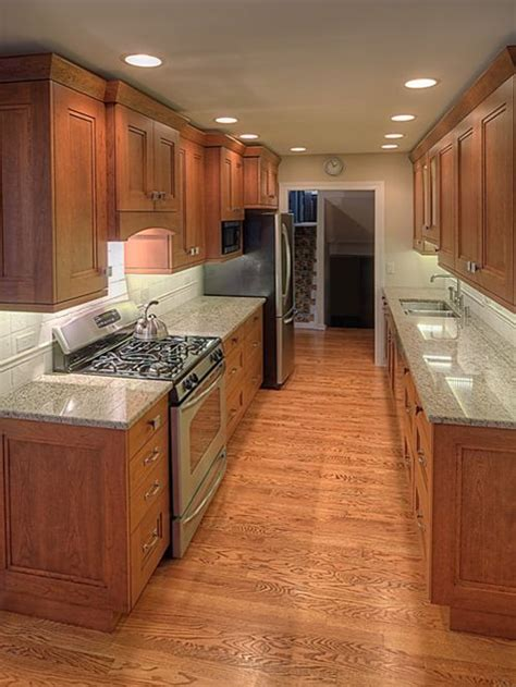 Galley Kitchen Cabinets Wide Galley Kitchen Ideas Pictures Remodel And Decor