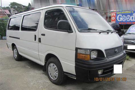 toyota van philippines sulit van for sale toyota hi ace commuter html autos weblog