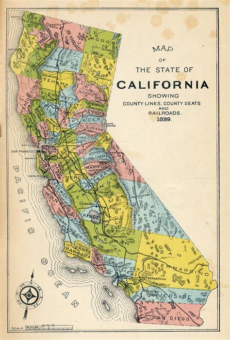 california map image free california map gold