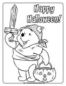pooh friends halloween 1 free disney halloween coloring pages team colors