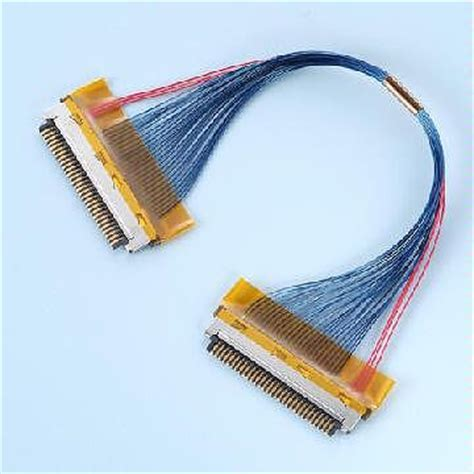 40 Coaxial Cable by Taiwan Micro Coaxial Cable Assemble Fi Df Type Connector