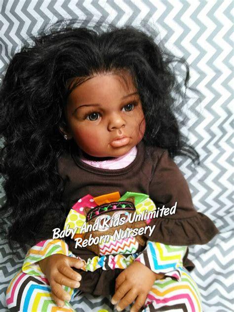 black doll kits aa reborn toddler baby ethnic toddler reborn baby