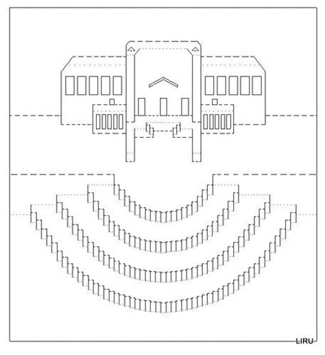 Architectural Origami Templates - 40 best origamic architecture patterns images on