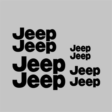 Jeep Car Decals Jeep Car Vehicle Decal Stickers