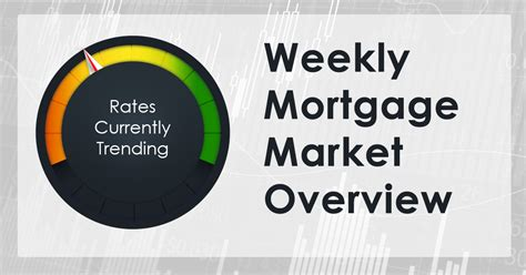 infinity mortgages weekly mortgage market report infiniti financial